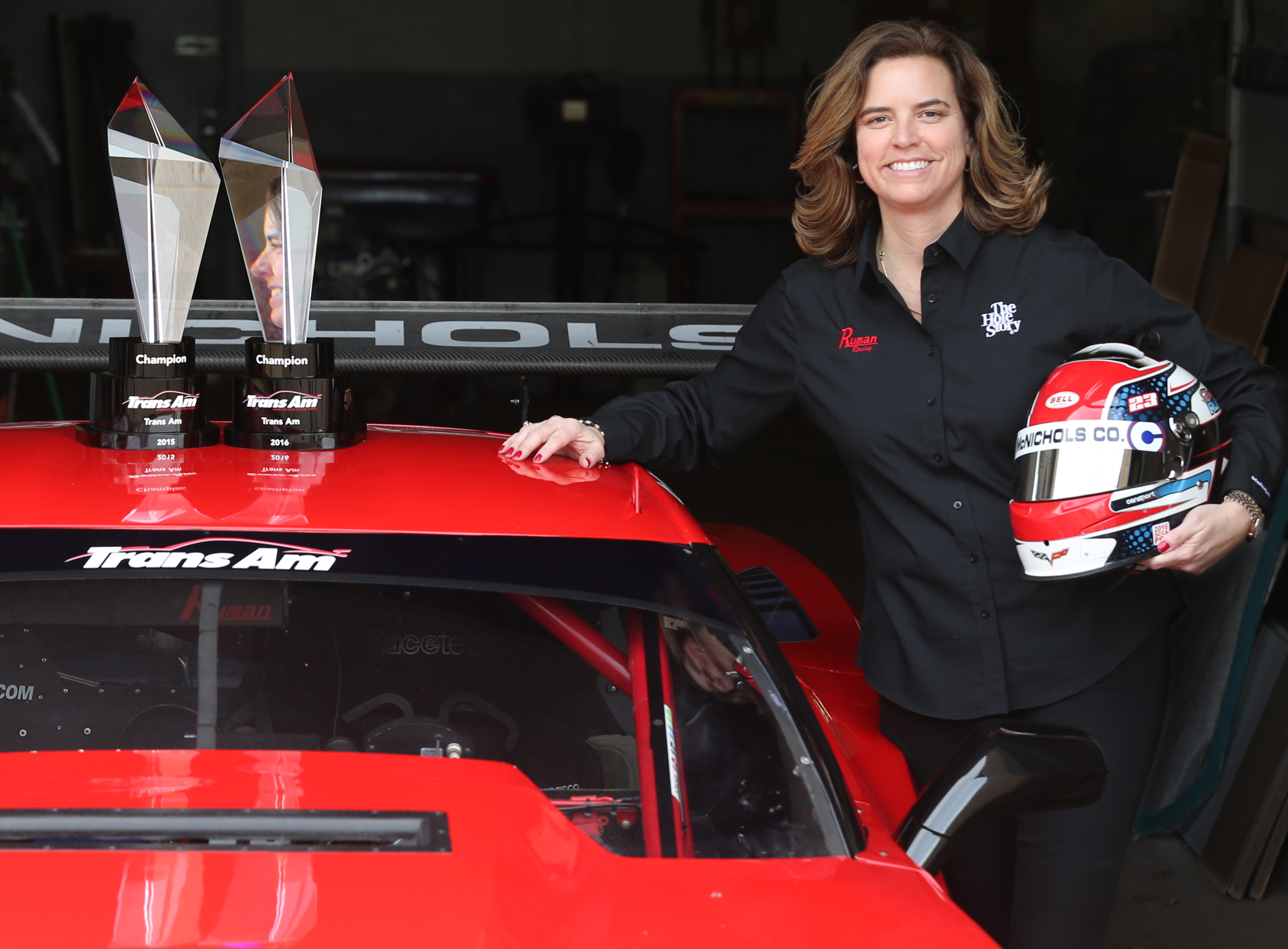 Defending Two Time Trans Am Champion Amy Ruman To Sport